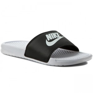 best service e8412 16a3d Slides NIKE - Benassi Jdi Mismatch 818736 011 Black White - Clogs and mules  - Mules and sandals - Men s shoes - www.efootwear.eu