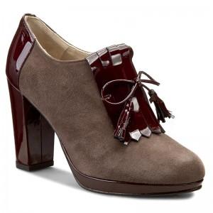 Shoes BRENDA ZARO Ante T1641 Scimmia