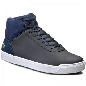 Sneakers LACOSTE - Ampthill 318 1 Caj 7-36CAJ0001434 Dk Tan Dk Brw ... 6be50962445