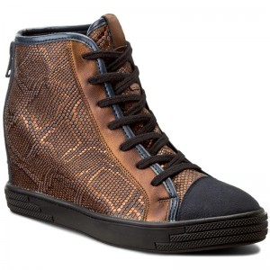 Canna Marrone Boots High Sofia Boots 9 FuelleCipro WKL SENSO gnIIq7HY