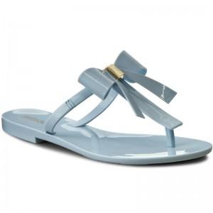Slides MELISSA T Bar V Ad 31926 Frosted Blue 01484
