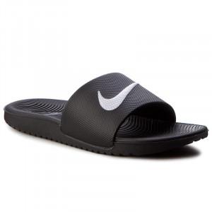 9e5055a6df60 Slides NIKE - Kawa Slide (GS PS) 819352 001 Black White - Casual mules -  Mules - Mules and sandals - Women s shoes - www.efootwear.eu