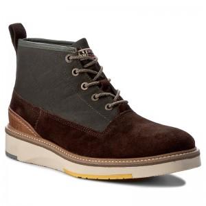 les bottes aux pepe genoux pepe aux jeans - fusion de Marron  83d219