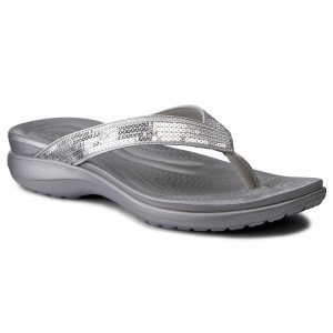 dcd60ce57612 Slides HUNTER Original Flip Flop WFD1058EVA Black. €43.00 · Slides CROCS - Capri  V Sequin W 204311 Silver