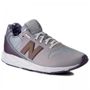 Sneakers NEW BALANCE WRT96PCB Grey Purple