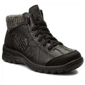 And Others Boots 01 Schwarz Rieker High L7110 CxwfwXqY