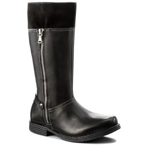 Knee High Boots KORNECKI 03531 W/Czarny/S