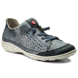 Shoes RIEKER M3709-15 Blau Kombi
