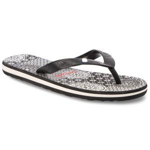 5eb131d29d364c Slides CROCS - Sanrah Embellished Wedge Flip 204009 Black Silver ...