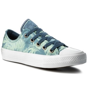 Sneakers CONVERSE Ctas II Ox 555984C Blue Coast/Jaded/White
