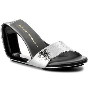 f20524662ff6 Sandals UNITED NUDE - Zink Slingback Hi 10300416108 Black And White ...