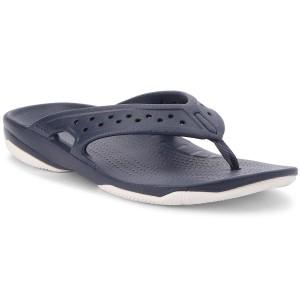75f852e2b4e5 Slides CROCS - Sloane Embellished Flip 204181 Pearl White - Flip ...