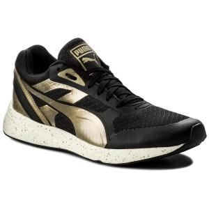 Sneakers PUMA - 698 Ignite Metallic Wn's 361086 01 Black/Metallic Gold/White