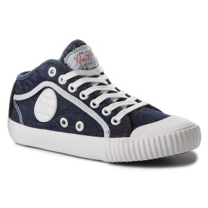 5fa0c15a14e4 Sneakers PEPE JEANS - Gery Bass PLS30657 Marine 585 - Sneakers - Low ...