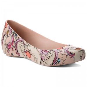 shoes Ad Ultragirl MELISSA 3DB 52410 32202 Flats Ballerina Pink CH8qxwSWt