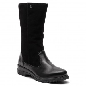 Leather Knee Belle 261079044 CLARKS Over Boots Caddy Black WE2DH9I