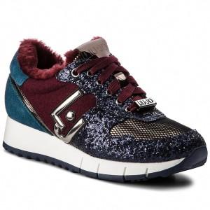 f3ca051bacb66e Sneakers PUMA - Vikky Ribbon S 366416 02 Blue Flower Blue Flower ...