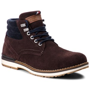 Hiking Boots TOMMY HILFIGER - Outdoor Suede Boot FM0FM01748 Coffee Bean 212 81ad299e430