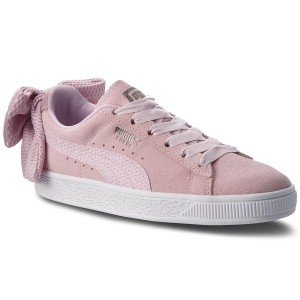 Sneakers PUMA - Suede Bow Uprising Wn s 367455 03 Winsome Orchid Puma White  - Sneakers - Low shoes - Women s shoes - www.efootwear.eu a26054860