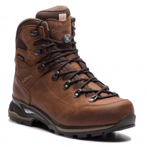 Trekker Boots LOWA - Hampton Gtx Mid GORE-TEX 210705 Brown 0485 - Trekker  boots - High boots and others - Men s shoes - www.efootwear.eu fdc0ec8466f