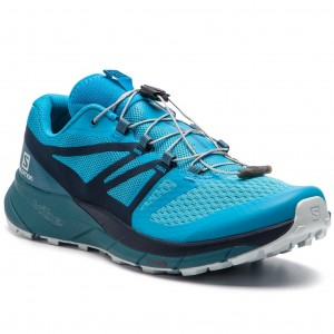 dfa65c6420a0 Shoes SALOMON Sense Ride 2 406738 27 V0 Hawaiian Ocean Navy Blazer Mallard  Blue