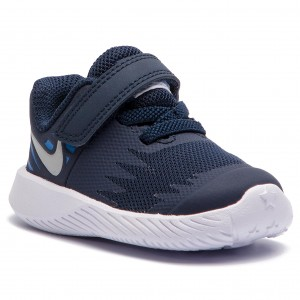 promo code 2caa4 2cec9 Shoes NIKE Star Runner (TDV) 907255 406 ObsidianMetallic Silver