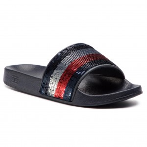 9f119141a722df Sneakers TOMMY HILFIGER - Core Corporate Leather Sneaker FM0FM01497 ...