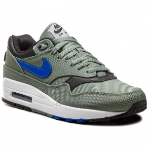 696f4e9e7f Shoes NIKE - Air Max 1 Premium 875844 300 Clay Green/Hyper Royal/White