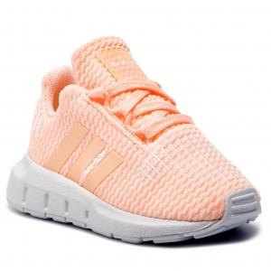 e5199eba6028a Shoes adidas - Swift Run I CG6924 Cleora Whiteb Ftwwht - Laced shoes - Low  shoes - Girl - Kids  shoes - www.efootwear.eu