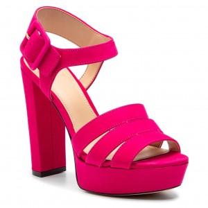 Plimsolls GUESS - Greta 2 FLGRE2 FAB12 BLUE - Flats - Low shoes ... cae0cefaac