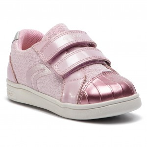 new styles 9d2e8 78084 Sneakers GEOX - B Djrock G. E B921WE 0EWHI C8004 S Pink