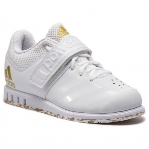 purchase cheap 7a85c 25bb5 Shoes adidas - Powerlift.3.1 AC7467 Ftwr WhiteFtwr WhiteGold Met.