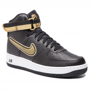 4fed7648dab098 Shoes NIKE Air Force 1 High  07 Lv 8 Sport AV3938 001 Black Metallic Gold  White