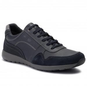 Sneakers GEOX U Box F U64R3F 022ME C6007 Cigar Sneakers