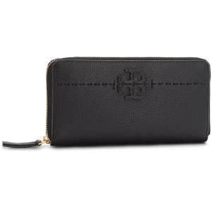 8428950c0b2 Large Women s Wallet TORY BURCH - McGraw Zip Continental Wallet 41847 Black  001