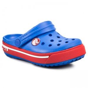finest selection a381d e991f Slides CROCS - Crocband II.5 Clog Kids 12837 Varsity BlueRed