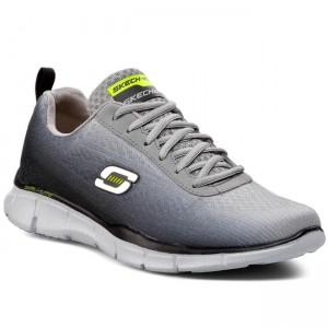 chaussures sketchers / gybk chaussures basses basses basses gris / noir des hommes e47e04