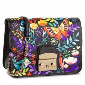 Metropolis FURLA Handbag BNF8 962708 Toni B H96 Onyx 15pqxwOC