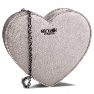 67376e6437c25 Handbag MY TWIN - Tracolla C Patta RS8TET Baby Blue 02191 - Cross ...