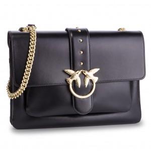 Handbag PINKO - Big Love Simply 1 Tracolla PE 19 PLTT 1P21B1 Y5EU Black Z99 ced7bc2b2bf