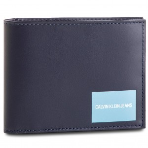 78f0df26bd Large Men s Wallet CALVIN KLEIN JEANS - Coated Canvas Billfold W Coin  K40K400836 449