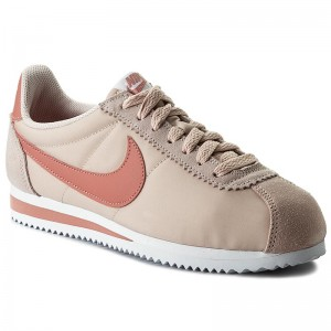 fc5000a489e Shoes NIKE - Wmns Classic Cortez Nylon 749864 603 Silt Red Red Stardust  White - Sneakers - Low shoes - Women s shoes - www.efootwear.eu