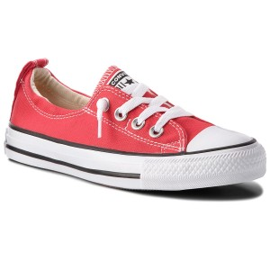 Shop Converse Men's Pearl Leather Vulc Ox Varsity Red