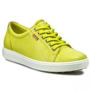 Shoes ECCO Soft 7 Ladies 43000301187 Sulphur Flats Low
