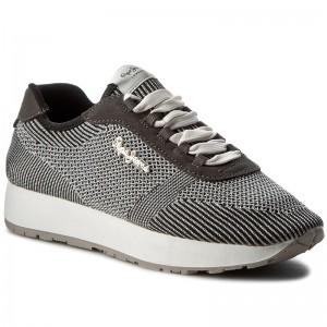 f4900d9d6fa9c Sneakers PEPE JEANS - Sally Fishnet PLS30490 Chrome 952