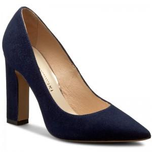 High Heels BALDOWSKI - D02255-7137-007 Zamsz Czarny vNce4c2w