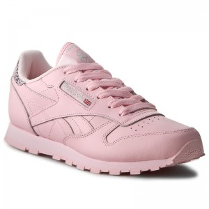 Shoes Reebok Classic Leather Metallic BD5898 Luster Pink