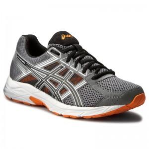 Shoes ASICS Gel-Contend 4 T715N Carbon Black Hot Orange 9790 d9f7486281