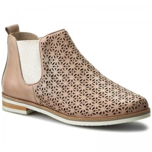 Ankle Boots CAPRICE - 9-25302-28 Rose Nubuc 509