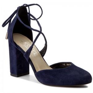 la câteva zile distanță la preț mic produse noi calde Shoes KOTYL - 5911 Czarny Zamsz - Heels - Low shoes - Women's ...